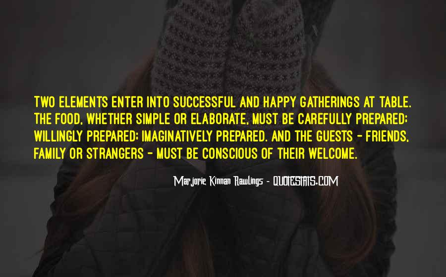 Quotes About Family Gatherings #1382170