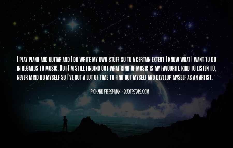 Quotes About Favourite Music #1214197