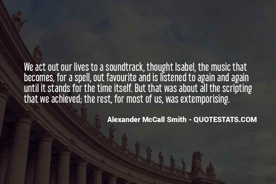 Quotes About Favourite Music #1242345