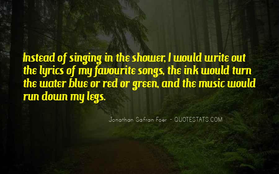 Quotes About Favourite Music #321582