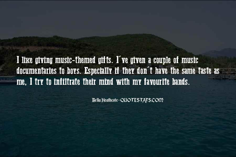 Quotes About Favourite Music #518777