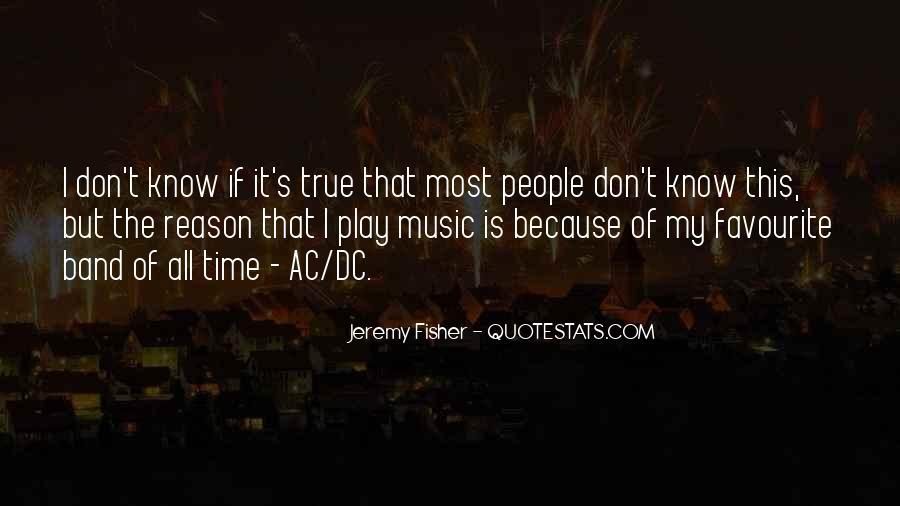 Quotes About Favourite Music #631655