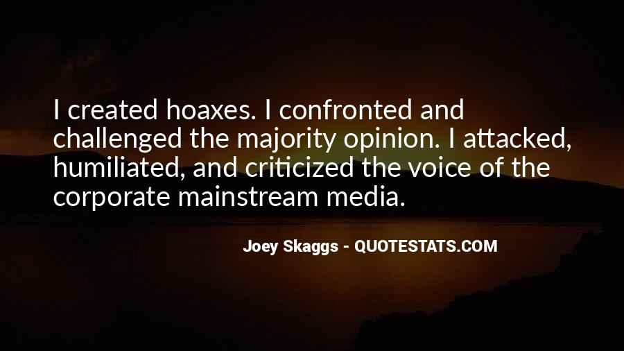 Quotes About Hoaxes #1406032