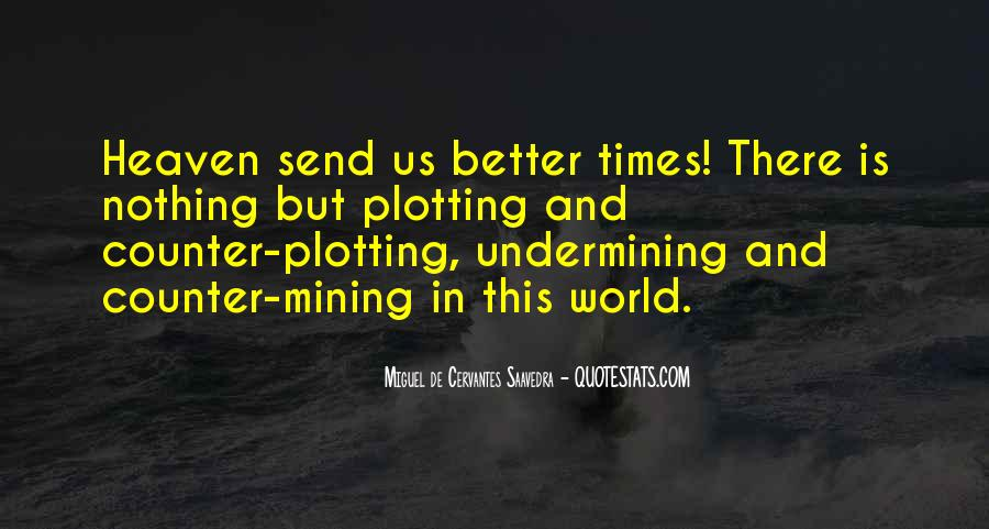 Quotes About Plotting #180811
