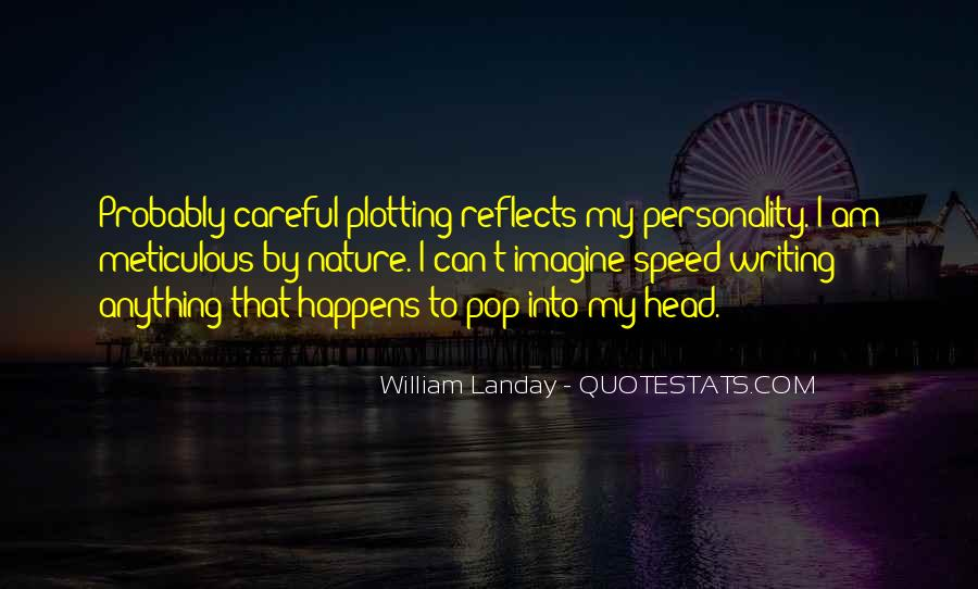 Quotes About Plotting #218443