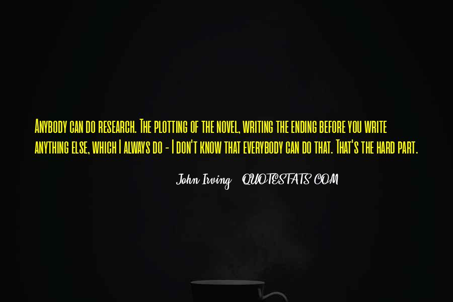Quotes About Plotting #876043