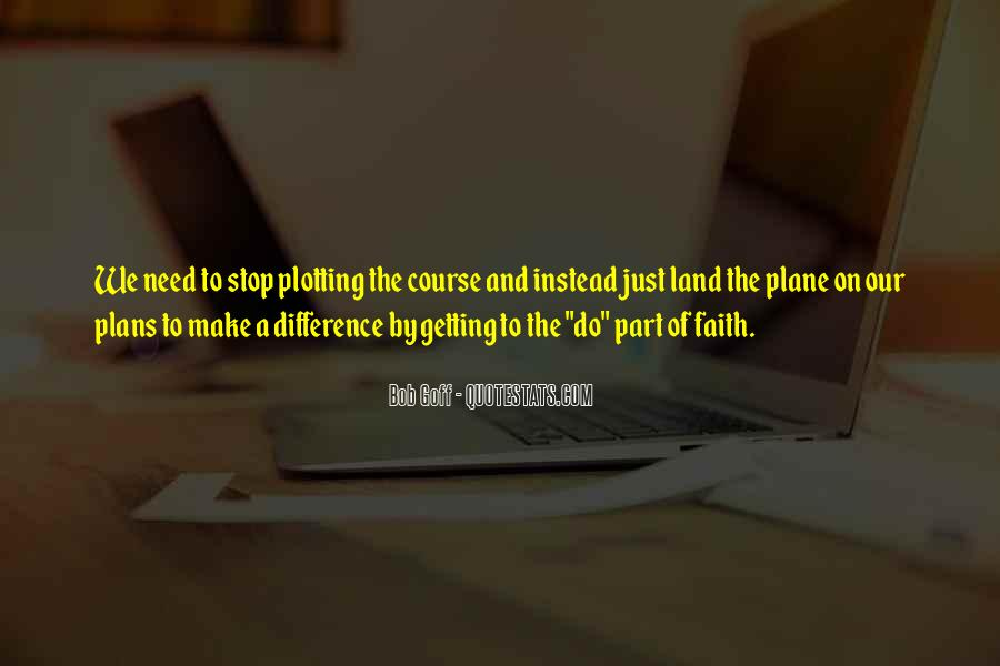 Quotes About Plotting #924689