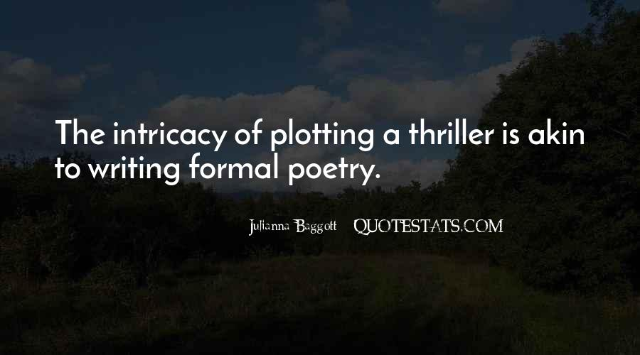 Quotes About Plotting #965234