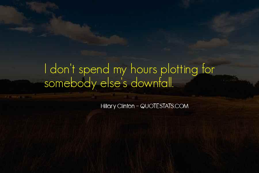 Quotes About Plotting #973187