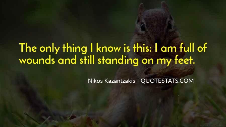 Quotes About Standing On Your Own Feet #142381