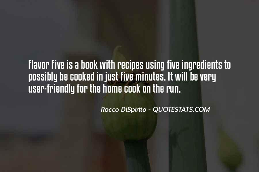 Quotes About Recipes #187960