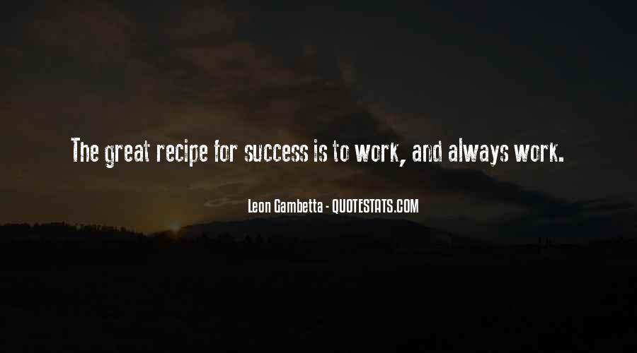 Quotes About Recipes #205164