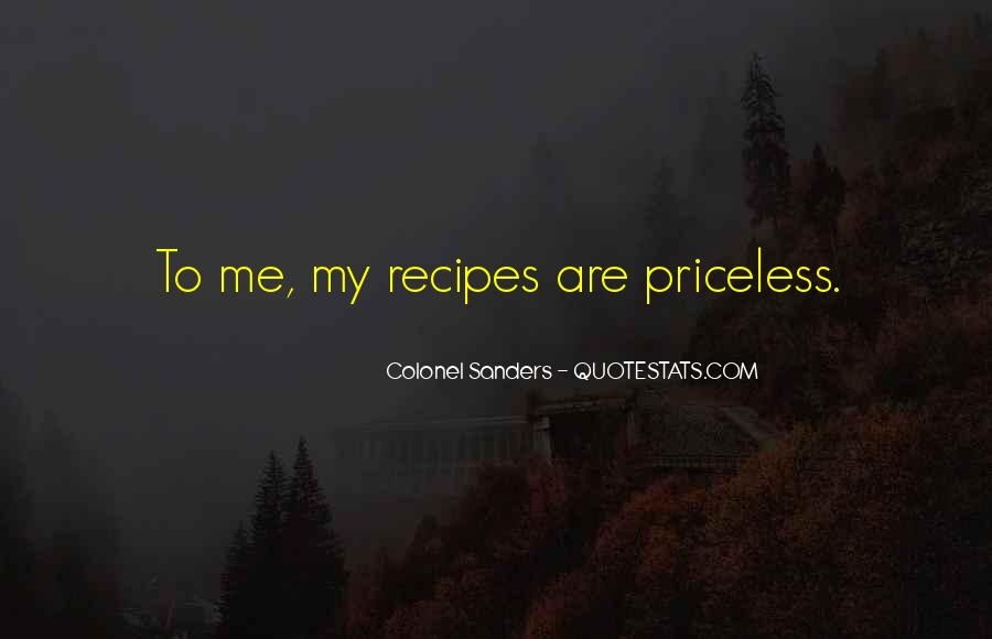 Quotes About Recipes #270507