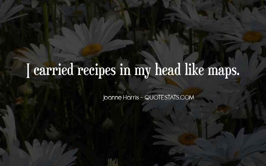 Quotes About Recipes #590010