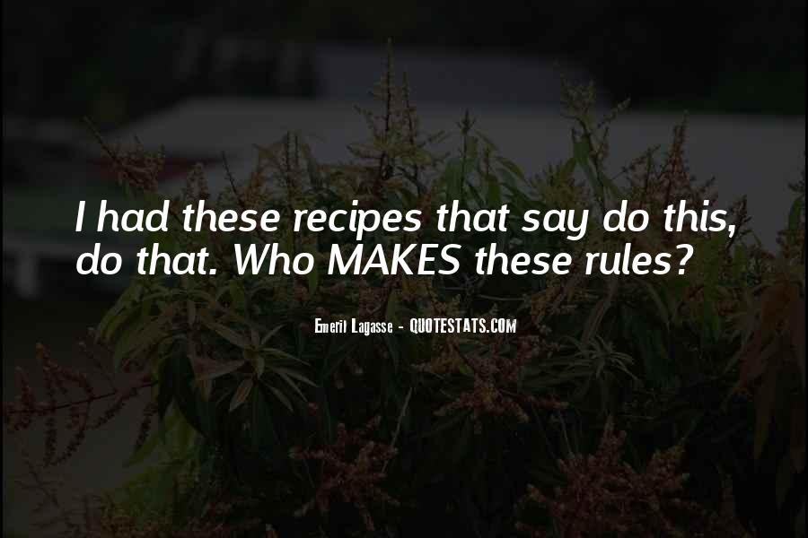 Quotes About Recipes #592348