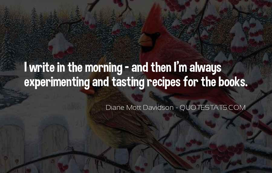Quotes About Recipes #616946