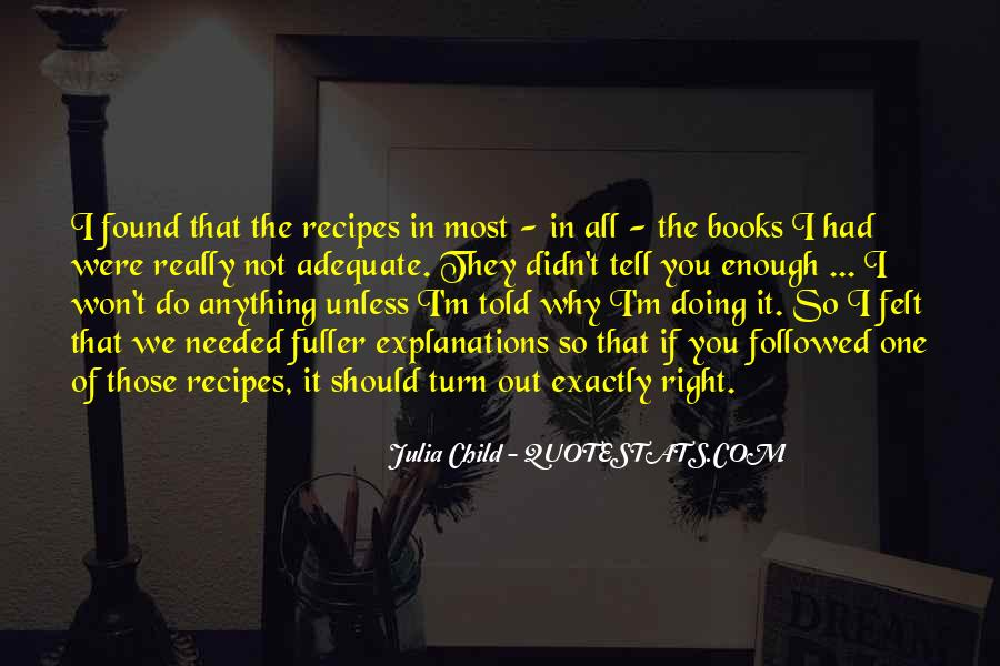 Quotes About Recipes #622941
