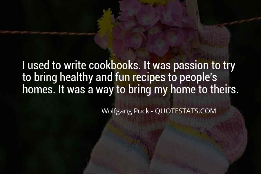 Quotes About Recipes #660226