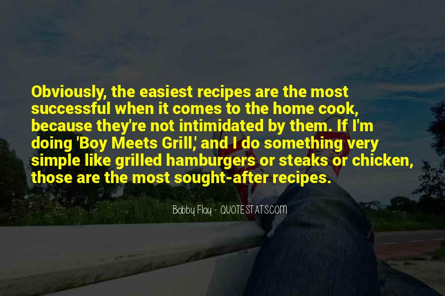Quotes About Recipes #661617