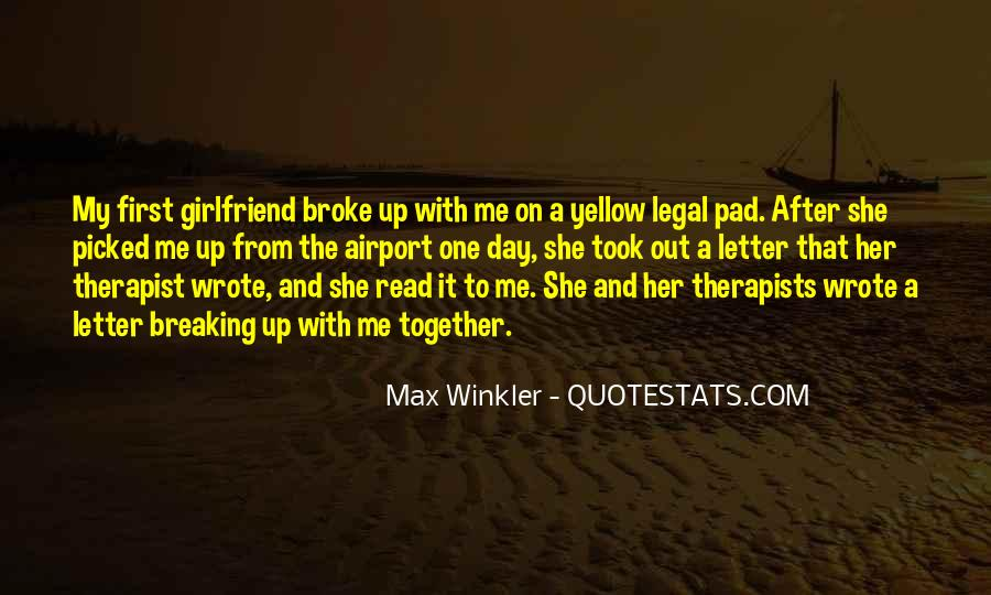 Quotes About A Ex Girlfriend #68940