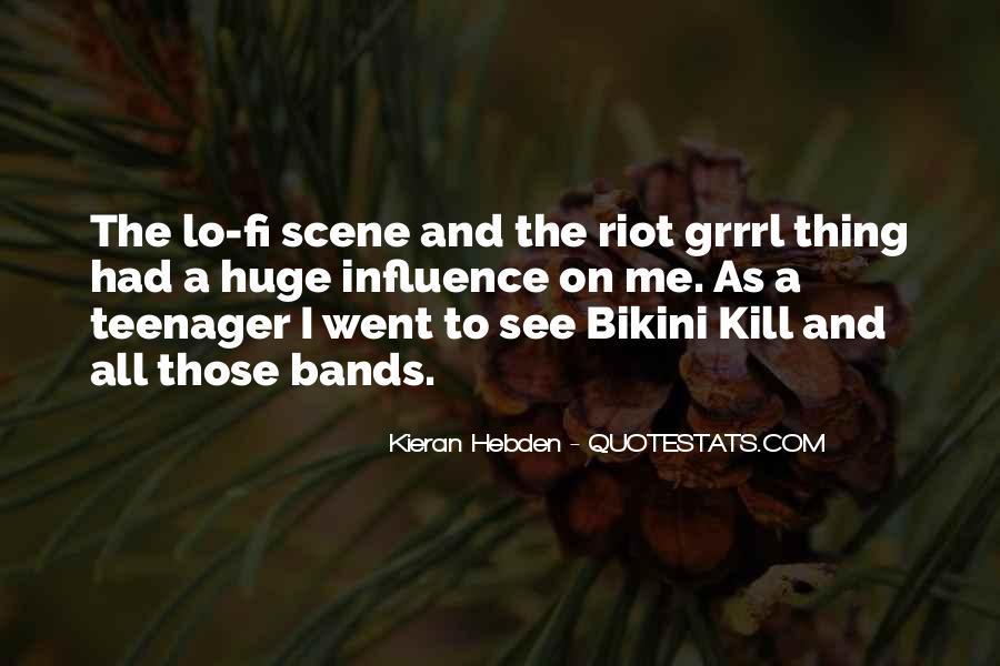 Quotes About Bikini Kill #1208750