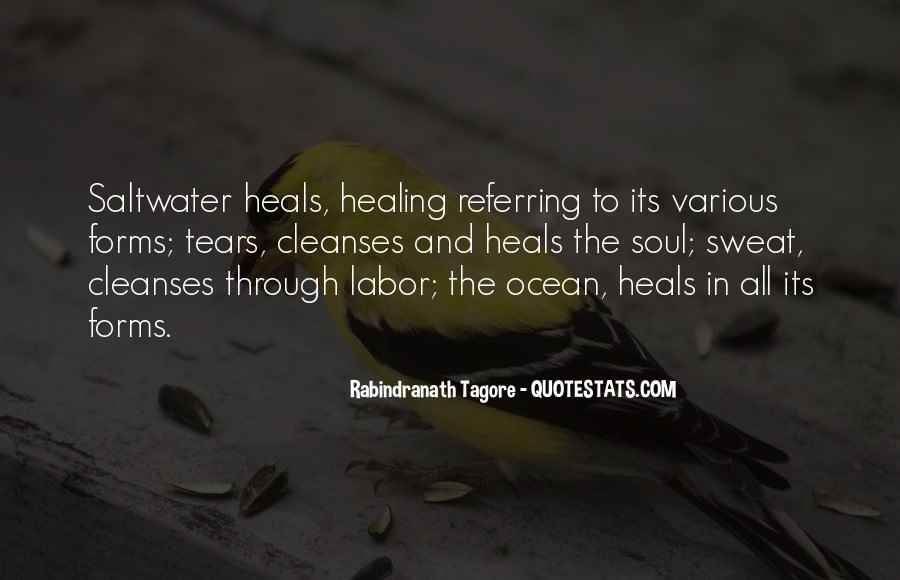 Quotes About Tears And The Ocean #1193408
