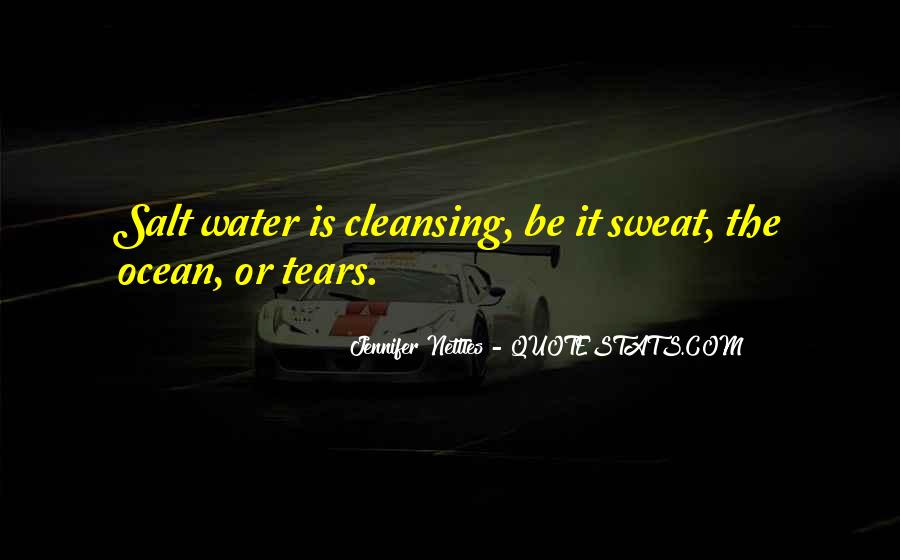 Quotes About Tears And The Ocean #1395353