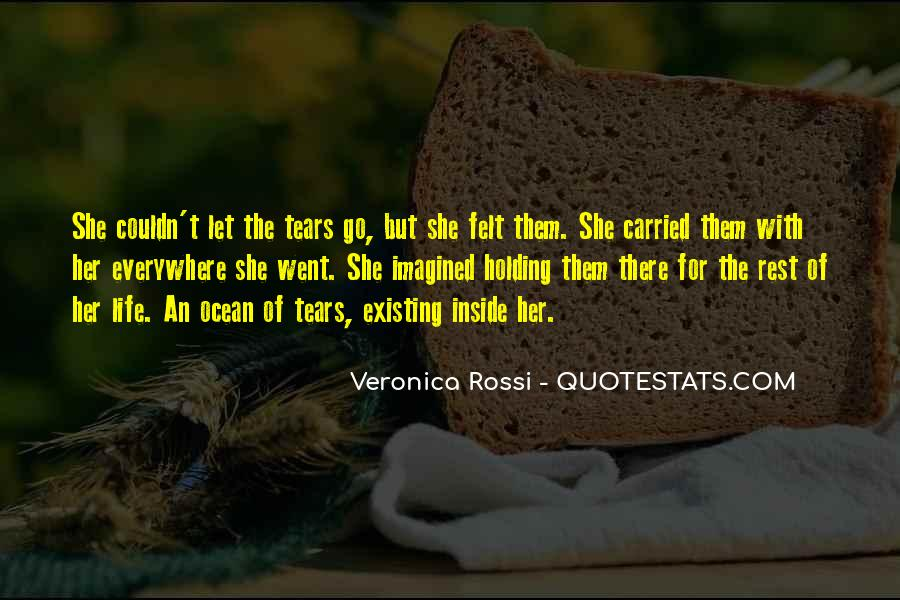 Quotes About Tears And The Ocean #204627