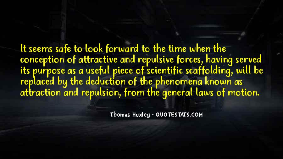 Quotes About Forward Motion #109164