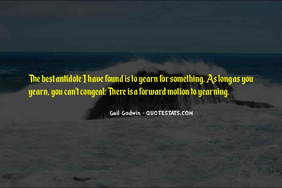 Quotes About Forward Motion #1135944