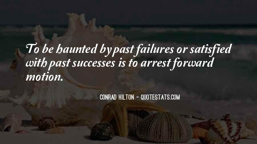 Quotes About Forward Motion #1307753