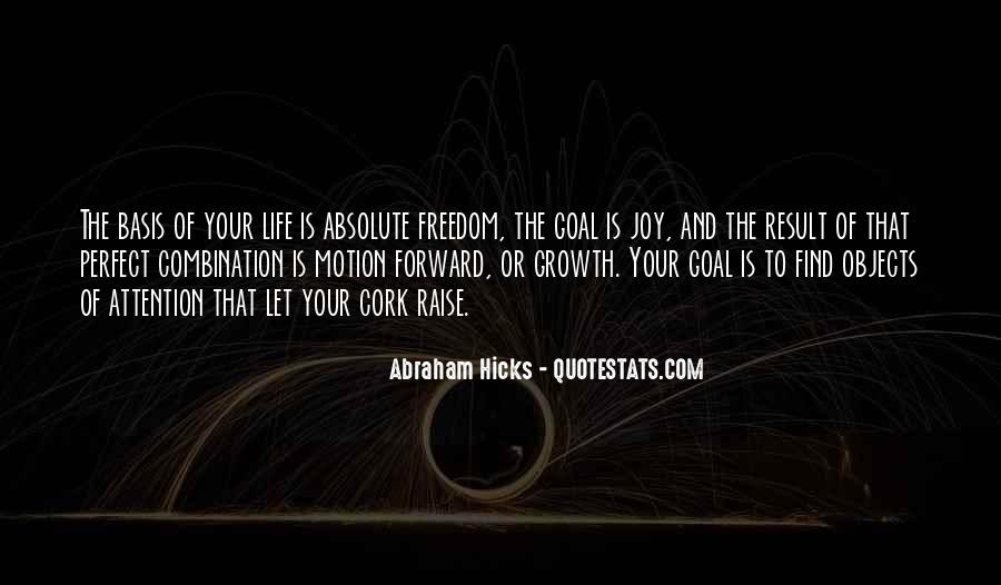 Quotes About Forward Motion #1484151