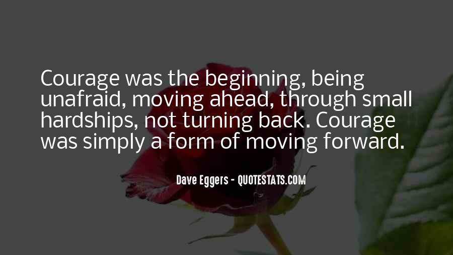 Quotes About Forward Motion #983113