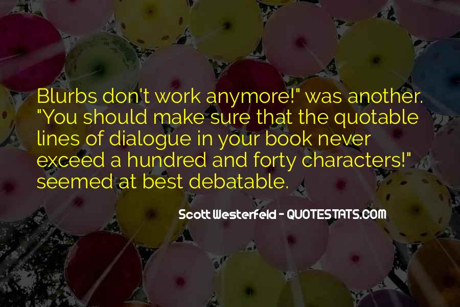 Quotes About Quotable Work #1249014