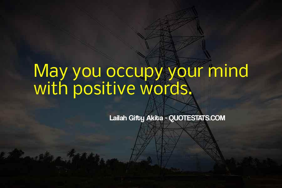Quotes About Positive Thinking #52324