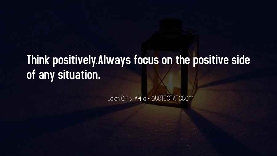 Quotes About Positive Thinking #72141