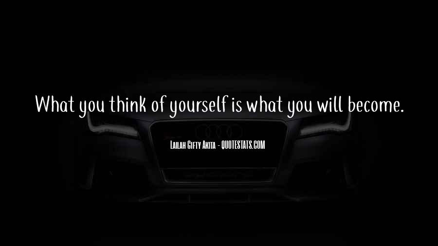 Quotes About Positive Thinking #74061