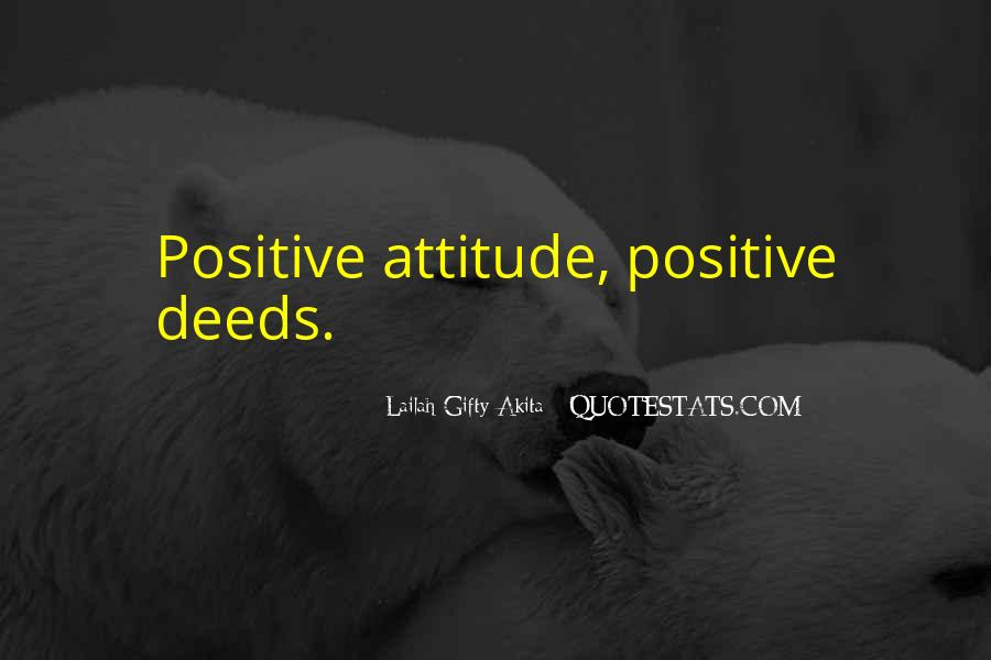 Quotes About Positive Thinking #77216