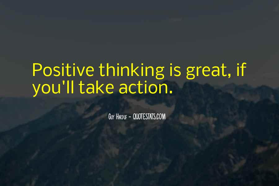 Quotes About Positive Thinking #83178