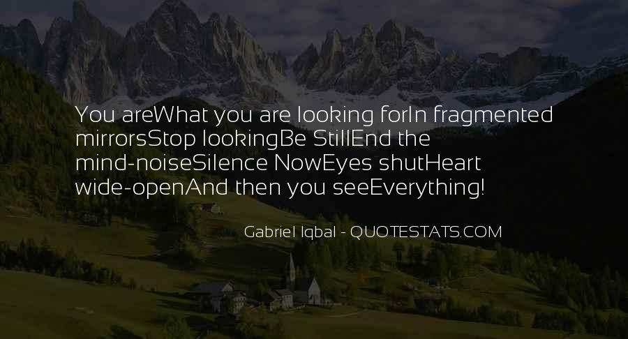 Quotes About Eyes And Heart #17489