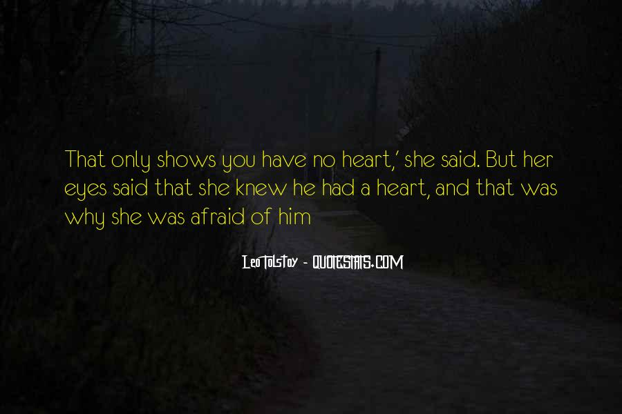 Quotes About Eyes And Heart #182052