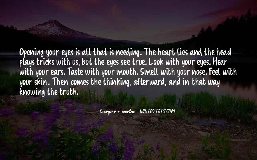Quotes About Eyes And Heart #193475