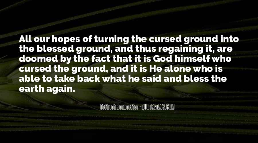 Quotes About Turning Your Back On God #1095444