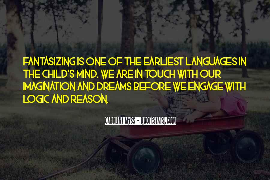Quotes About Child's Imagination #1202553