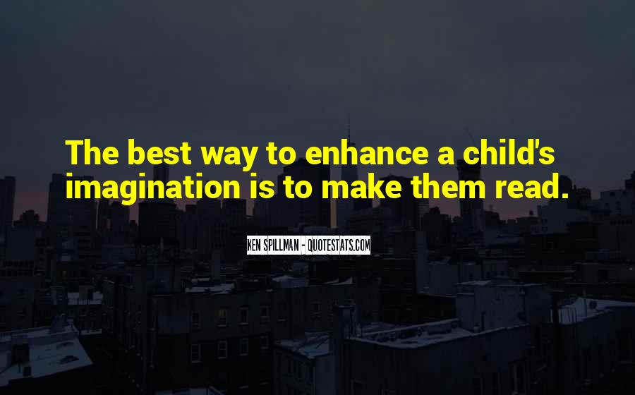 Quotes About Child's Imagination #123021