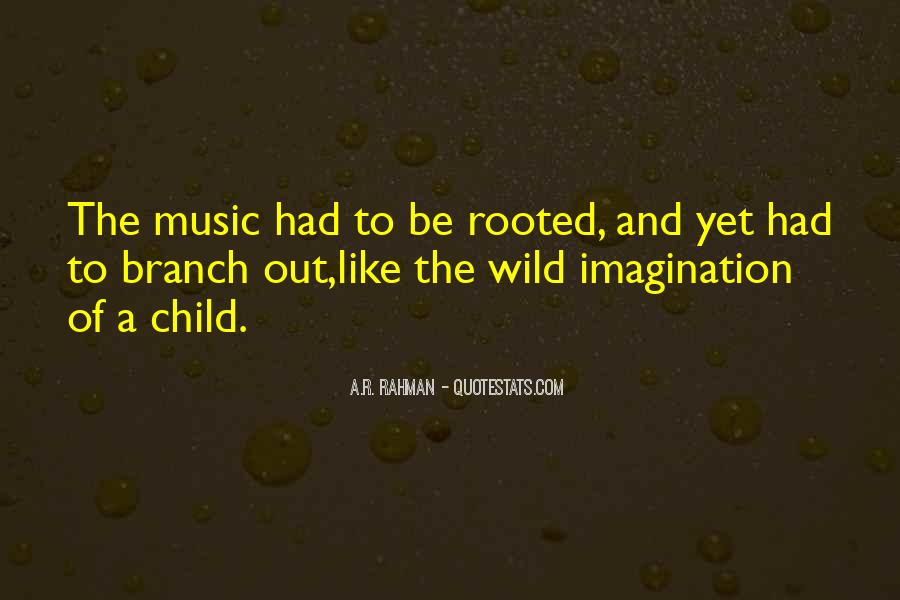Quotes About Child's Imagination #139209