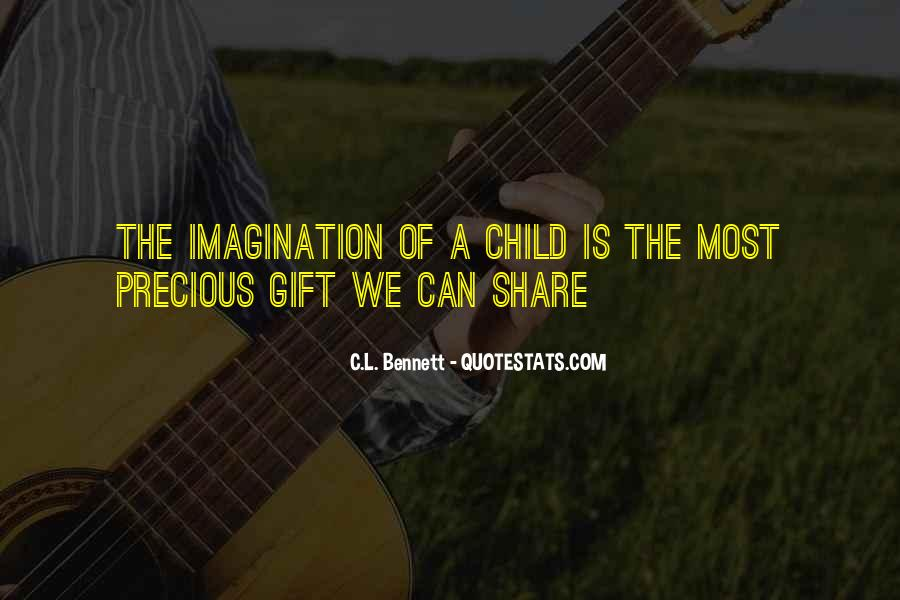 Quotes About Child's Imagination #1486211
