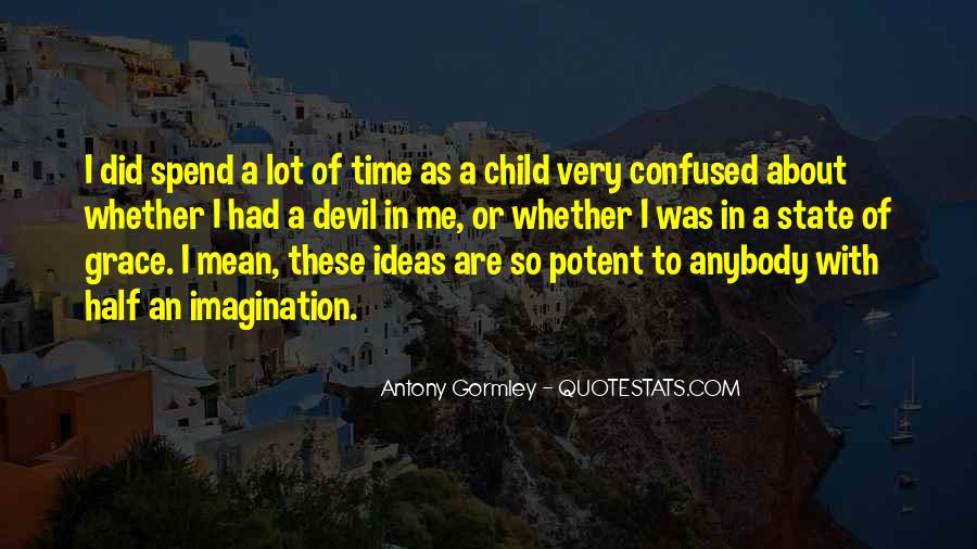 Quotes About Child's Imagination #1525829