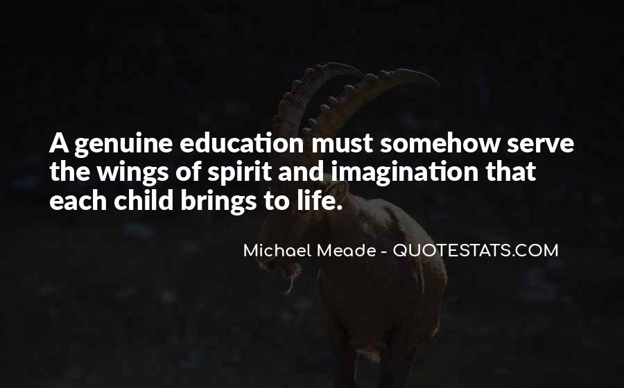 Quotes About Child's Imagination #218774