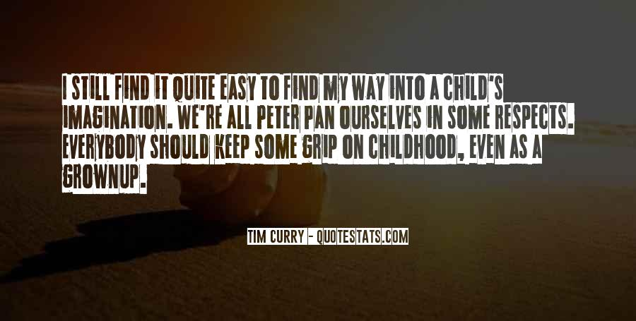 Quotes About Child's Imagination #258904